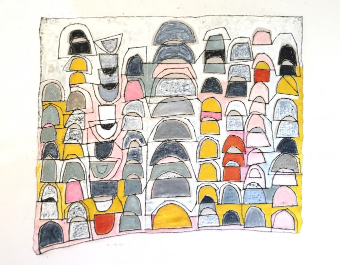 Armory Week, Art On Paper, booth #316: Stick Together, No. 1