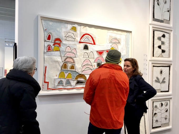 Art On Paper, NYC, Cheryl Hazan Gallery