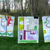 Have A Say, No. 1 + The Grass Is Greener, No. 2 + No.1, in process