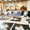 Makeshift Art Studio During Big Barn Reno