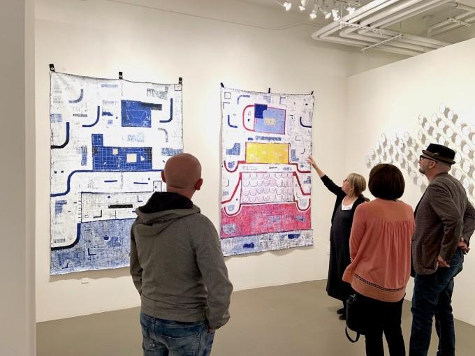 Shelter, Opening Reception, Cheryl Hazan Gallery
